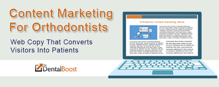 content marketing for orthodontists