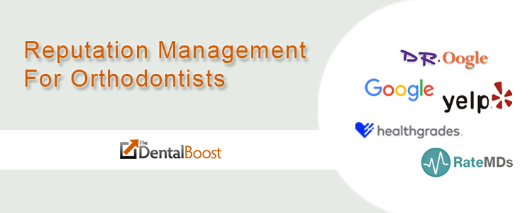 online reputation management for orthodontists
