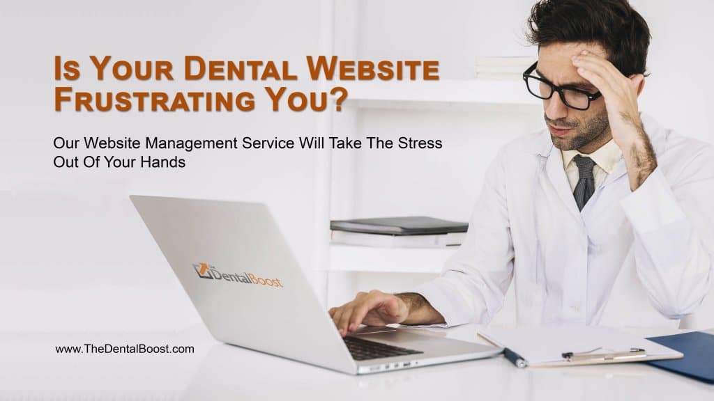 Affordable Website Management For Dental Websites