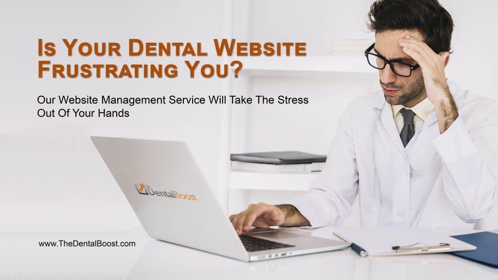 Affordable Website Management For Dental Websites