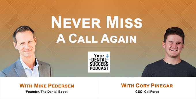 Never Miss A Call Again Podcast with Cory Pinegar